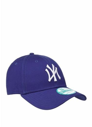 New Era New Era 9Forty  Logo Nakışlı Erkek Şapka 101477563 Mavi